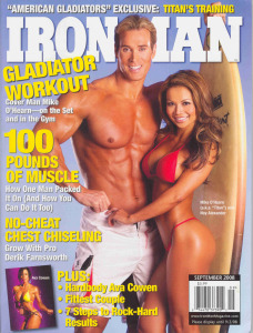 Fitness LEGEND Mike O'Hearn Gets Kona-Tanned for Iron Man Magazine Cover