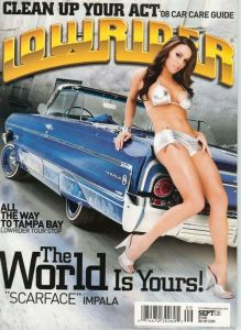 See Kona Tanning On Cover Of Lowrider Magazine