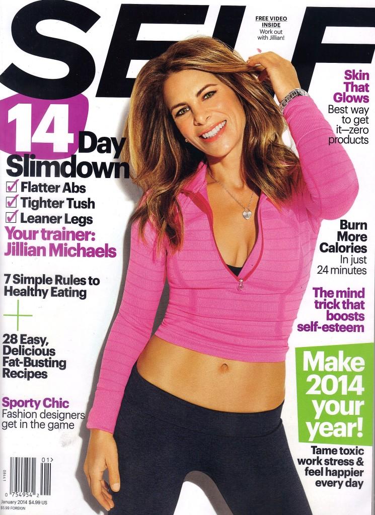 Kona Tanning Mention In SELF Magazine - Jillian Michaels
