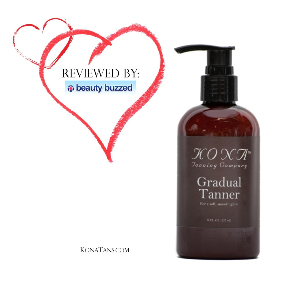 BeautyBuzzed Reviews The Kona Tanning Gradual Tanner