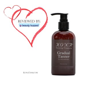Kona Tanning Co: Not Just for Californians Anymore! BeautyBuzzed Reviews The Gradual Tanner