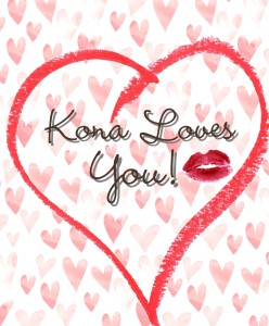 Happy Valentine's Day From Team Kona Tanning