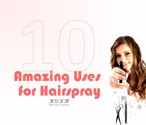 10 Amazing Uses for Hairspray