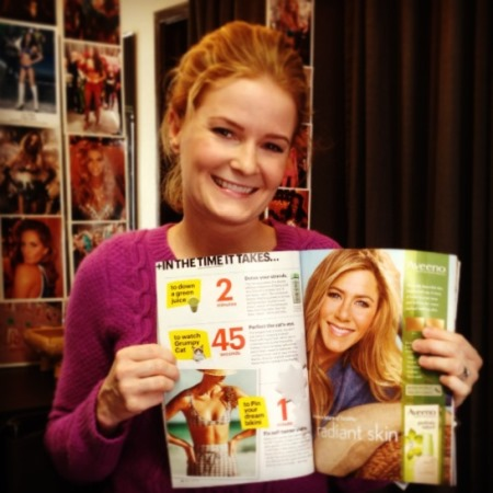 Katie Quinn's expert sunless tanning tips featured in SELF Magazine with Juliana Hough