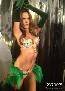 Alessandra Ambrosio in the Million Dollar Fantasy Bra