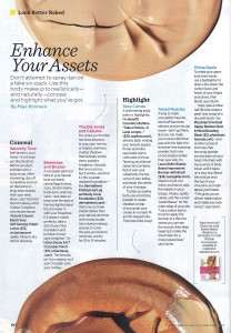 Women's Health Features Kona Tanning Tips on How to Contour Your Body From Home