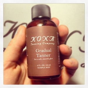 So Cute!  Miniature Kona Tanning Gradual Tanner Samples!