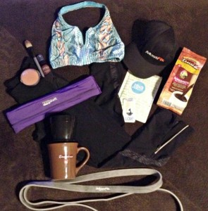 Kona Bronzing Powder Makes Emily Reynolds' OVRHD Fitness Gear Closet