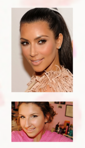 Kim Kardashian Inspired Contouring And Eyeshadow Tip Using KTC Bronzing Powder