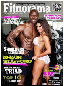 Kona Katie Tans Fitness Model for Fitnorama Magazine Cover