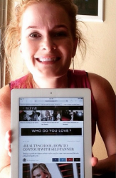 Harper's Bazaar Features Katie Quinn's Insider Self-Tanning Contouring Tips