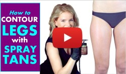 VIDEO: Leg Contouring for Spray Tanners