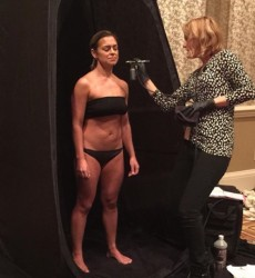 Spray Tan Contouring Demonstration for ASTP Sunless Summit