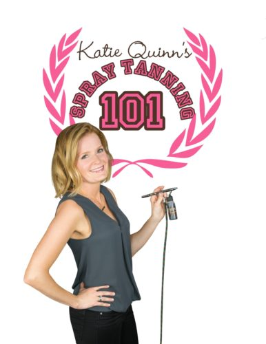 Spray Tanning 101 - Learn to Spray Tan DVD - Kona Tanning Company's Katie Quinn, Celebrity Spray Tanner