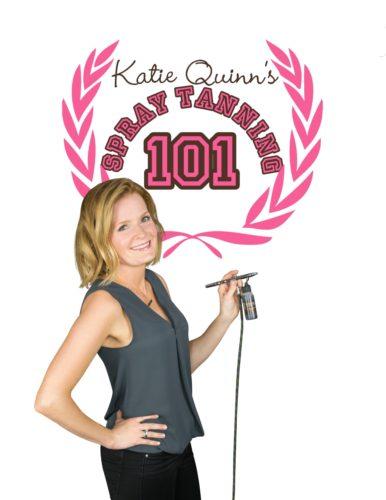 Spray Tanning 101 - Learn to Spray Tan DVD - Kona Tanning Company's Katie Quinn, Celebrity Spray Tanner